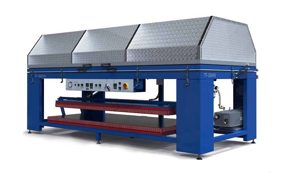 Membrane vacuum press TF-300HV
