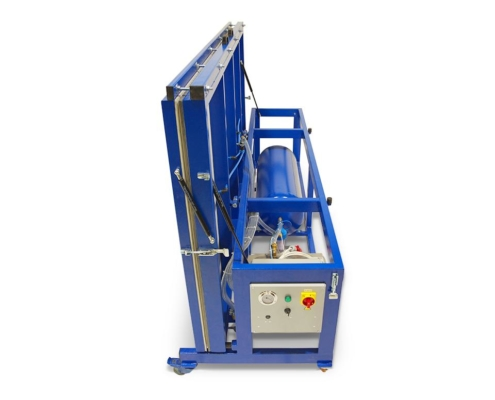 Cold membrane vacuum press