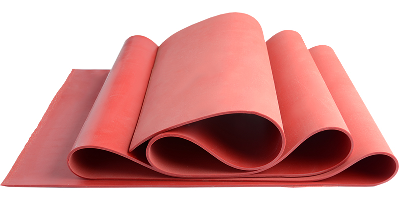 Natural rubber membrane for va